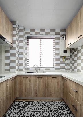 欧式 三居 厨房图片来自言白设计在北欧家的分享