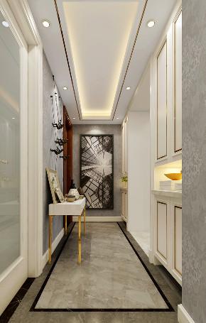 简约 三居 大户型 复式 白领 80后 小资 旧房改造 玄关图片来自高度国际姚吉智在尽显时尚气质 新奥洋房110平米的分享