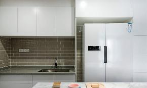 简约 三居 混搭 厨房图片来自言白设计在新色马卡龙的分享