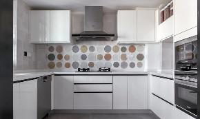 简约 三居 厨房图片来自言白设计在原木色家的分享