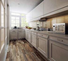 丝庐雅苑 别墅装修 现代风格 腾龙设计 厨房图片来自周峻在丝庐雅苑别墅项目装修现代风格的分享