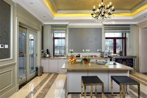 维诗凯亚 别墅装修 欧式风格 完工实景 腾龙设计 厨房图片来自周峻在维诗凯亚别墅 项目装修欧式古典的分享