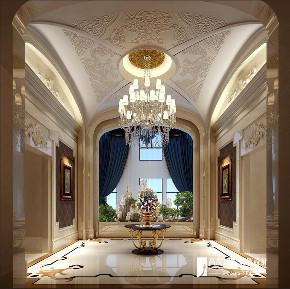 欧式 别墅 跃层 复式 大户型 80后 玄关图片来自高度国际姚吉智在恒大丽宫别墅1400平米奢华欧式的分享