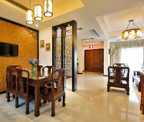 泊仕郡 别墅装修 欧美风格 完工实景 腾龙设计 餐厅图片来自腾龙设计在别墅装修完工实景展示的分享