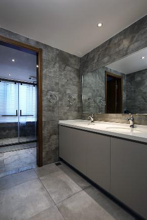 保利天鹅语 别墅装修 现代风格 腾龙设计师 卫生间图片来自周峻在360平联排别墅现代风格设计的分享