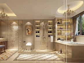 红松林赞成 别墅装修 欧式风格 腾龙设计 卫生间图片来自腾龙设计在440平别墅欧式古典风格设计的分享