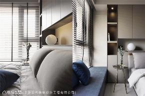 现代风格 现代简约 小资 80后 收纳 白领 三居 卧室图片来自幸福空间在116平,动线四通八达活络空间的分享