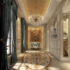 九龙仓 联排别墅 新古典风格 腾龙设计 玄关图片来自周峻在500平联排别墅项目装修设计案例的分享