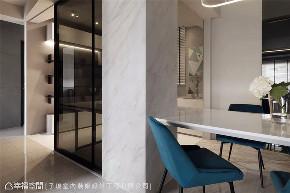 现代风格 现代简约 小资 80后 收纳 白领 三居 书房图片来自幸福空间在116平,动线四通八达活络空间的分享