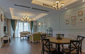 80后 小资 美式 客厅图片来自北京今朝装饰在美式风格案例的分享