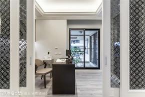 小资 旧房改造 收纳 白领 新古典 大理石 书房图片来自幸福空间在172平,缔造时尚典雅气质居!的分享