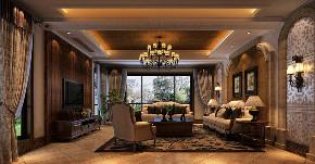 长泰西郊 别墅装修 美式风格 腾龙设计 餐厅图片来自腾龙设计在长泰西郊350平别墅美式风格设计的分享