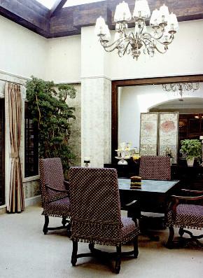 保利茉莉公 茉莉公馆 别墅装修 美式风格 腾龙设计 餐厅图片来自腾龙设计在保利茉莉公馆别墅装修美式设计的分享