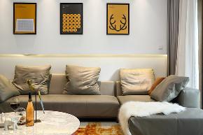 保利天鹅语 别墅装修 现代风格 腾龙设计师 客厅图片来自周峻在360平联排别墅现代风格设计的分享