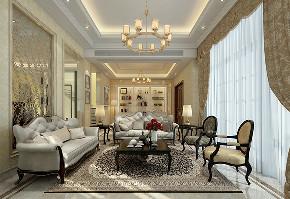 九龙仓 别墅装修 现代风格 腾龙设计 客厅图片来自周峻在九龙仓别墅项目装修现代风格的分享