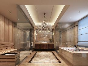 苏州桃花源 别墅装修 简欧风格 腾龙设计 卫生间图片来自周峻在苏州桃花源630平别墅项目装修的分享