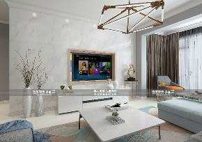 二居 现代 碧桂园繁华 客厅图片来自百家装饰LL在碧桂园繁华里 85平现代风格的分享