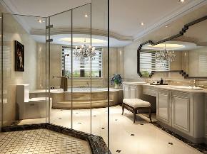 恒大名人世 别墅装修 欧式风格 腾龙设计 卫生间图片来自腾龙设计在恒大名人世家别墅装修欧式风格的分享