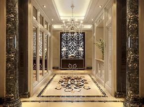 恒大名人世 别墅装修 欧式风格 腾龙设计 玄关图片来自腾龙设计在恒大名人世家别墅装修欧式风格的分享