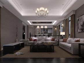 东海御庭 别墅装修 现代风格 腾龙设计 客厅图片来自周峻在550平独栋别墅现代风格设计的分享