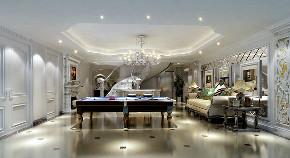 海珀晶华 别墅装修 欧式古典 腾龙设计 餐厅图片来自腾龙设计在海珀晶华426平别墅装修设计的分享