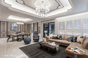 小资 旧房改造 收纳 白领 新古典 大理石 客厅图片来自幸福空间在172平,缔造时尚典雅气质居!的分享
