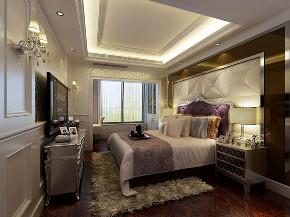 华润置地 橡树湾别墅 欧式古典 腾龙设计 卧室图片来自腾龙设计在华润置地橡树湾别墅新古典设计的分享