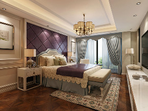 湖畔天下 别墅装修 现代风格 腾龙设计 卧室图片来自腾龙设计在湖畔天下300平别墅项目装修设计的分享