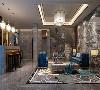 华侨城十号院别墅项目装修新古典现代风格设计,上海腾龙别墅设计作品,欢迎品鉴