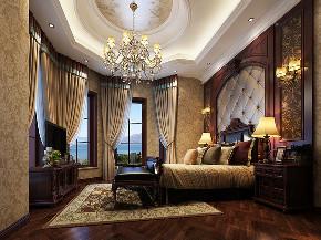 湖山在望花 别墅装修 欧式古典 腾龙设计 卧室图片来自腾龙设计在湖山在望花园别墅装修欧式风格的分享