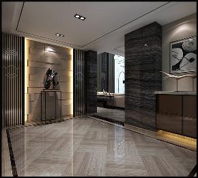 华润置地 橡树湾 别墅装修 现代风格 卫生间图片来自腾龙设计在华润置地橡树湾别墅现代风格设计的分享