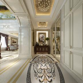 别墅装修 欧式古典 腾龙设计 玄关图片来自周峻在600平独栋别墅新古典风格设计的分享