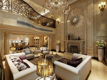 华润置地橡树湾别墅新古典设计