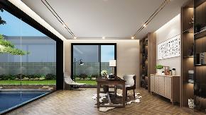 湖畔佳苑 别墅装修 现代风格 腾龙设计 其他图片来自腾龙设计在湖畔佳苑别墅项目装修现代风格的分享