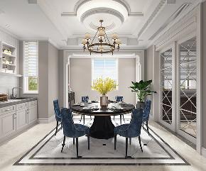 别墅装修 腾龙设计 欧美风格 餐厅图片来自周峻在别墅装修新中式风格设计的分享