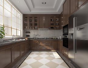 别墅装修 腾龙设计 欧美风格 厨房图片来自周峻在别墅装修新中式风格设计的分享