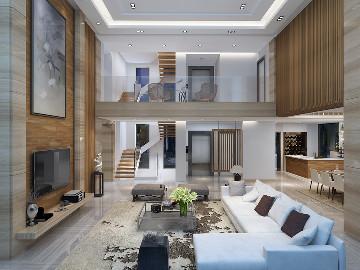 华侨城十号院别墅项目装修设计