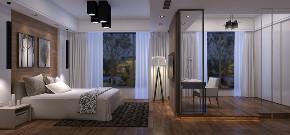 华侨城十号 别墅装修 现代风格 腾龙设计 卧室图片来自腾龙设计在华侨城十号院别墅项目装修设计的分享