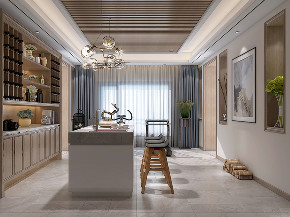 国宾一号 别墅装修 现代风格 腾龙设计 餐厅图片来自周峻在1100平别墅项目装修现代风格设计的分享