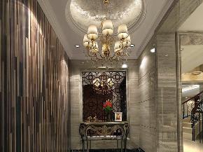 金爵别墅 别墅装修 欧式古典 腾龙设计 玄关图片来自周峻在别墅装修欧式古典风格设计的分享
