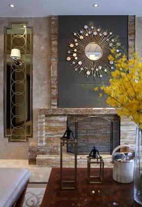 新古典 三居 四居 大户型 跃层 复式 80后 小资 客厅图片来自高度国际姚吉智在172平米新古典主义优雅浪漫的分享