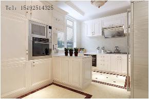 实创 龙湖 别墅 简欧 装修 设计 厨房图片来自实创装饰小彩在龙湖滟澜海岸联排280平简欧的分享