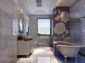大华诺斐墅 别墅装修 欧美古典 腾龙设计 卫生间图片来自周峻在大华诺斐墅 欧美古典风格设计的分享
