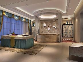 九龙仓 别墅装修 欧式风格 腾龙设计 卫生间图片来自周峻在九龙仓别墅项目装修设计案例展示的分享