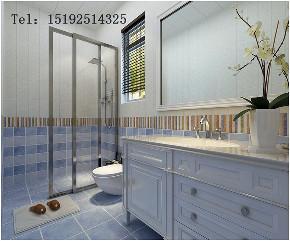 实创 龙湖 别墅 简欧 装修 设计 卫生间图片来自实创装饰小彩在龙湖滟澜海岸联排280平简欧的分享