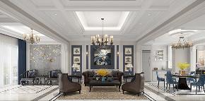 别墅装修 腾龙设计 欧美风格 客厅图片来自周峻在别墅装修新中式风格设计的分享
