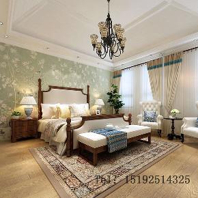 青岛 实创 玫瑰庭院 美式 卧室图片来自实创装饰小彩在玫瑰庭院别墅260平的分享