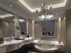 金爵别墅 别墅装修 欧式古典 腾龙设计 卫生间图片来自周峻在别墅装修欧式古典风格设计的分享