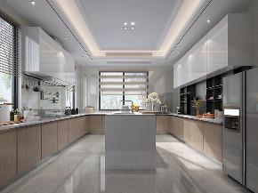 国宾一号 别墅装修 现代风格 腾龙设计 厨房图片来自周峻在1100平别墅项目装修现代风格设计的分享