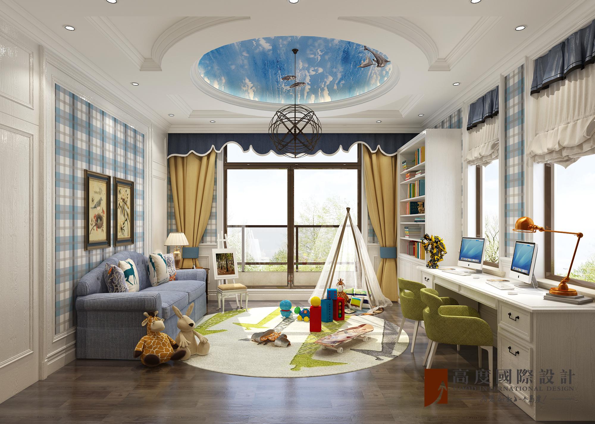 儿童房图片来自北京高度国际在东亚华欣湾--欧式风格的分享